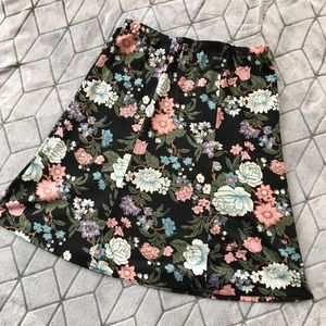 Colorful Floral Skirt